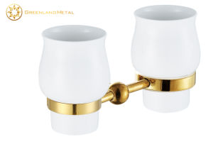 Bathroom Accessory Brass Toothbrush Holder pictures & photos
