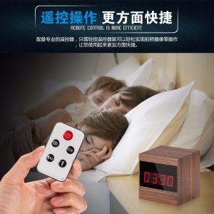 Digital 1080P A10 Motion Detection Night Vision IR Alarm Mini DVR Video Camera Clock pictures & photos