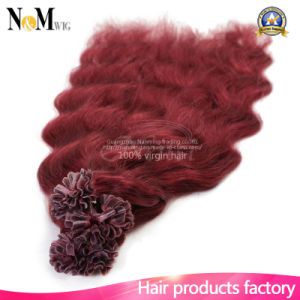 Guaranteed Quality Keratin Remy Human Hair Pure Bonded U Tip Hair Extension pictures & photos