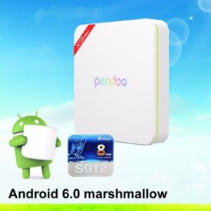 2016 New Brand TV Box Amlogic S912 Pendoo X9 PRO 2GB RAM 16GB ROM Android 6.0 pictures & photos