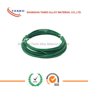Green white thermocouple extension cable type K 2*0.2mm pictures & photos
