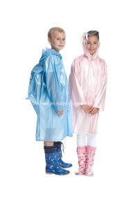 PVC Children Raincoat pictures & photos