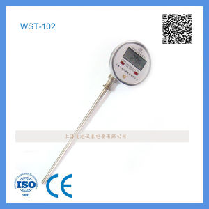 Wst-102 Digital Bimetallic Thermometer with Celsius/Fahrenheit Display pictures & photos