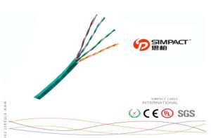 Lansan High Speed High Quality UTP/FTP/SFTP Outdoor Cat5e Networking Cable pictures & photos