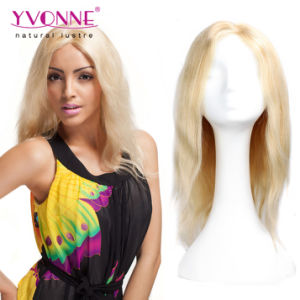 Blond Body Wave Brazilian Full Lace Human Hair Wigs pictures & photos