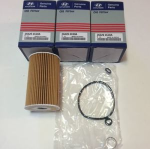 Genuine Part Auto cartridge Oil Filter for Hyundai 26320-3c30A pictures & photos