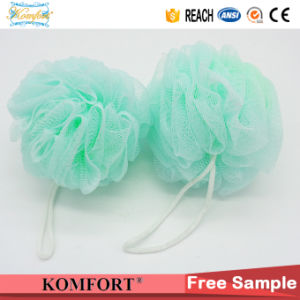 Promotional Natural PE Mesh Shower Puff Bath Ball (JM-175N) pictures & photos