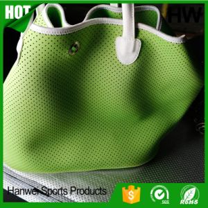 Custom Logo Neoprene Fashion Handbag pictures & photos