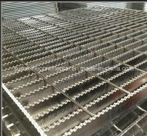 Hot DIP Galvanized Jagged Steel Grating