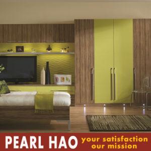 Modern Open Door Customized PVC Melamine Wardrobe pictures & photos