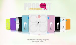 Large LCD Display Body Fat Digital Bathroom Glass Weighing Scale pictures & photos