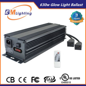 Low Frequency Hydroponic Grow Lights Dimmable Electronic 630W Ballast pictures & photos