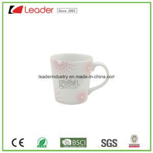 Customized Logo Black Ceramic Tea Mug pictures & photos