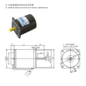 AC Reducer Gear Motor Speed Control Motors pictures & photos