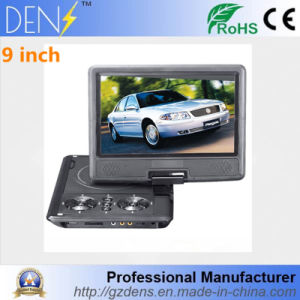 9 Inch Portable Swivel Screen DVD Evd Player pictures & photos