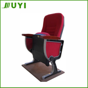 Jy-989s Folding Fabric Wood Church Seat Part Cheap Theater Chair pictures & photos