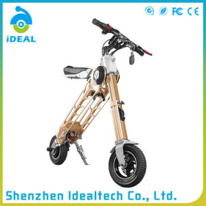 Customized Color 10 Inch Folded Electric Mobility Scooter pictures & photos