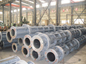 Prestressed Electric Pole Steel Mold Plant pictures & photos
