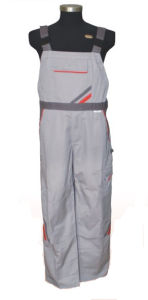Wholesale Mens Gray Puls Size Fr Workwear Bib Brace Overalls