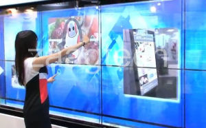 """106"""" Interactive Wall 32 Touch Points (X-106-32)"""