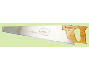Handsaw With Big Wooden Handle