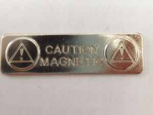 Factory Permanent Neo Magnet Strong Power Metal Magnetic Badge pictures & photos