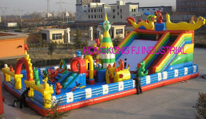 Giant Inflatable Park, Inflatable Bounce House, Inflatable Playground
