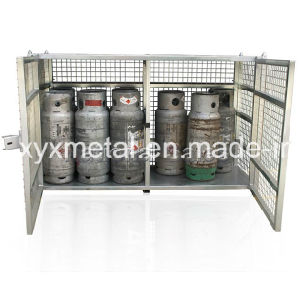 12PCS Gas Cylinder Bottle Stackable Stacking Steel Storage Cage pictures & photos