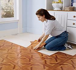 "Dry Back Back PVC Floor Tile 12""*12""*1.2mm pictures & photos"