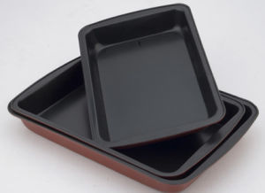 3PCS Square Fry Pan Set (SPD09)