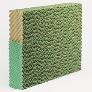 Brown& Green Evaporative Cooling Pad with High Quality pictures & photos