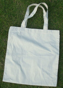 Environmental Cheap Green Canavs Shopping Bags Canvas Tote Bag for Shopper pictures & photos