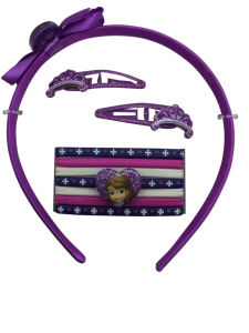 Cute Hair Clips Elastics and Headbans Sets for Children pictures & photos