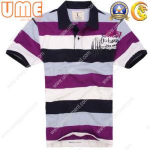 Men′s Polo Shirt with Cotton Pique Fabric (UMPS08)