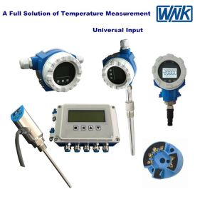 Universal Input 4-20mA Hart Wall/Pipe Mounted Temperature Transmitter with LCD Display pictures & photos