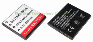 Digital Camera Battery/Camcorder Battery for Casio (NP-120)