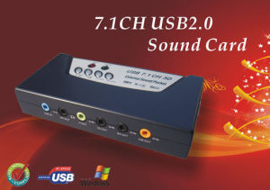 USB Sound Card with 7.1CH