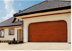 Sectional Garage Door(Low Headroom) pictures & photos