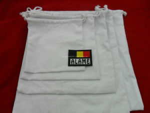 OEM Cheap Promotional Canvas Cotton Drawstring Bag (GB-10005) pictures & photos