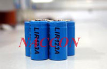 Naccon Lithium Rechargeable Batteries and Packs (LIR123A) pictures & photos