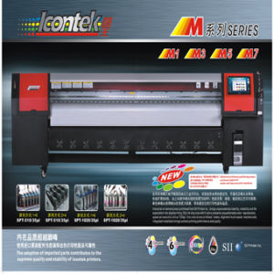 Icontek Solvent Printr (New Model) M Series With 1020 Printhead