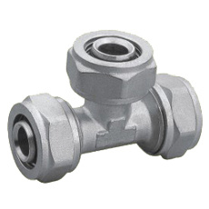 Brass Pipe Fitting (PX-1008) with Tee