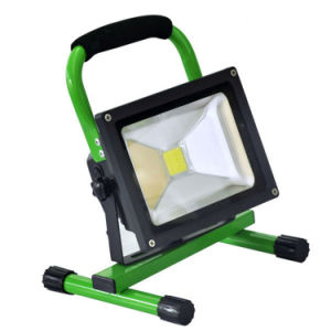 30W 4400mAh LED Outdoor Rechargeable Floodlight pictures & photos