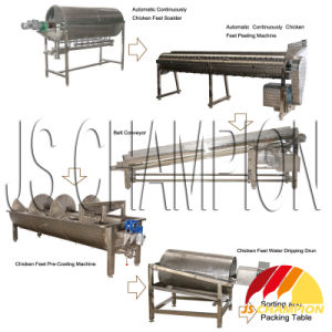 Chicken Feet Processing Machines for Poultry Slaughterhouse pictures & photos