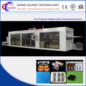 Full-Automatic Multi-Station Plastic Thermoforming Machine (forming/cutting/punching/stacking) pictures & photos