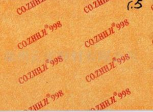 Fiber Board Paper Middle Sole Board Chemical Sheet Toe Puff for Shoe Materails pictures & photos