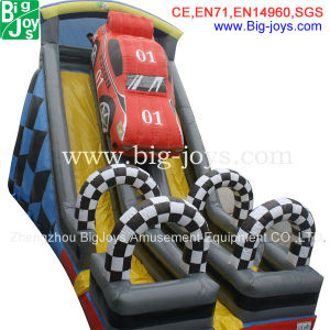 Inflatable Slides, Inflatable Cars Slide, Kids Paradise Slide (BJ-S19) pictures & photos