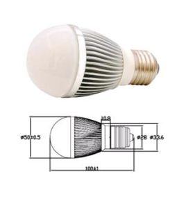 E27 LED Lighting 3*1W (HBC003WCRE27)