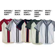 Sublimation Blank Custom Baseball Jerseys Bottons Shirt pictures & photos