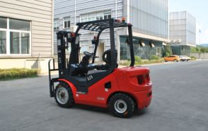 3500kg Capacity Diesel Forklift with Yanmar Engine pictures & photos